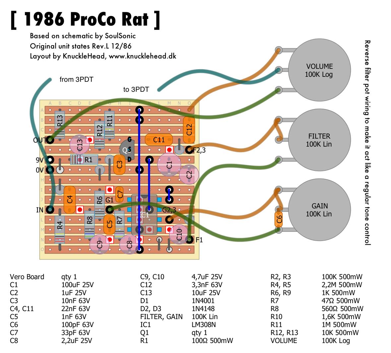 Rat: Proco Rat on 3 position switch schematic, rat pedal schematic, mutron iii schematic, fuzz face schematic, klon centaur schematic, boss metal zone schematic, deluxe memory man schematic, boss ds-1 schematic, ebow schematic, univox super fuzz schematic, noise gate schematic, octavia schematic, tube screamer schematic, dynacomp schematic, dallas rangemaster schematic, compressor schematic, fender schematic, jordan bosstone schematic, fulltone ocd schematic, overdrive schematic,