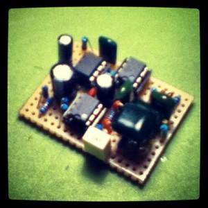 Parallax prototype circuit board